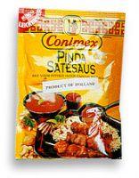 Conimex Peanut Satay Sauce Dry Mix 2.45oz bag