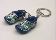 Keychain 2 Clogs Blue Mill