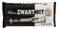 Zwart Wit Licorice Rolls 3 Pk
