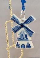 Xmas Ornament Delft Mill 2.5inch