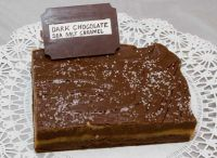 Dark Chocolate Sea Salt Caramel Fudge (lb)