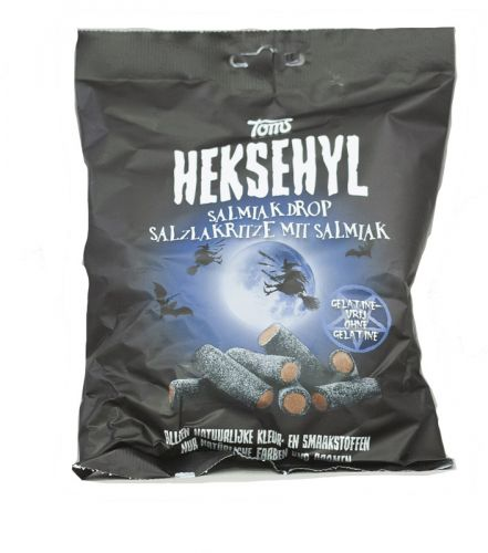 Heksehyl Salty Licorice Kilo 2/22 Lbs