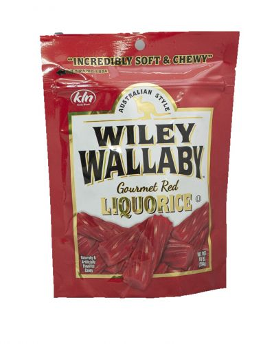 Wiley Wallaby Red Licorice 10 oz