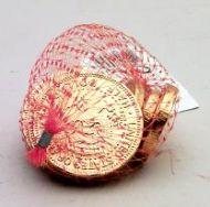 Milk Chocolate Coins in Net