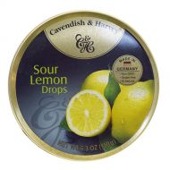 Cavendish & Harvey Tin Sour Lemon Drops 5.3 oz