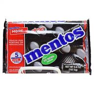 Licorice Mentos Roll 5Pack