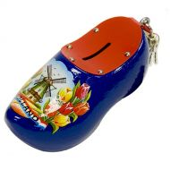 Wooden Shoe Savingsbank Blue