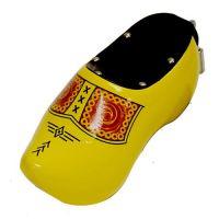 Wooden Shoe Savingsbank Yellow