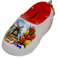 Wooden Shoe Savingsbank White